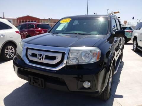 2011 Honda Pilot for sale at Hugo Motors INC in El Paso TX