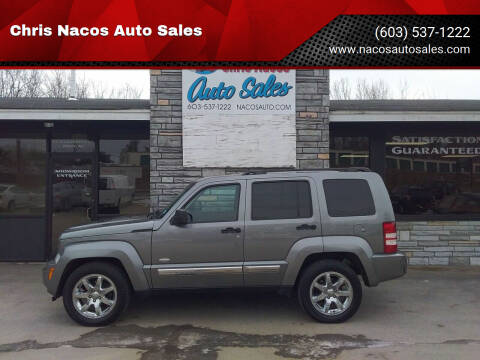 2012 Jeep Liberty for sale at Chris Nacos Auto Sales in Derry NH