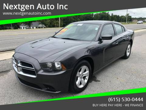 2014 Dodge Charger for sale at Nextgen Auto Inc in Smithville TN