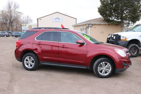 2011 Chevrolet Equinox for sale at Northern Colorado auto sales Inc in Fort Collins CO