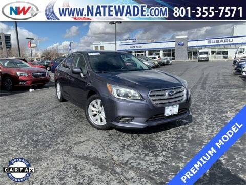 2015 Subaru Legacy for sale at NATE WADE SUBARU in Salt Lake City UT