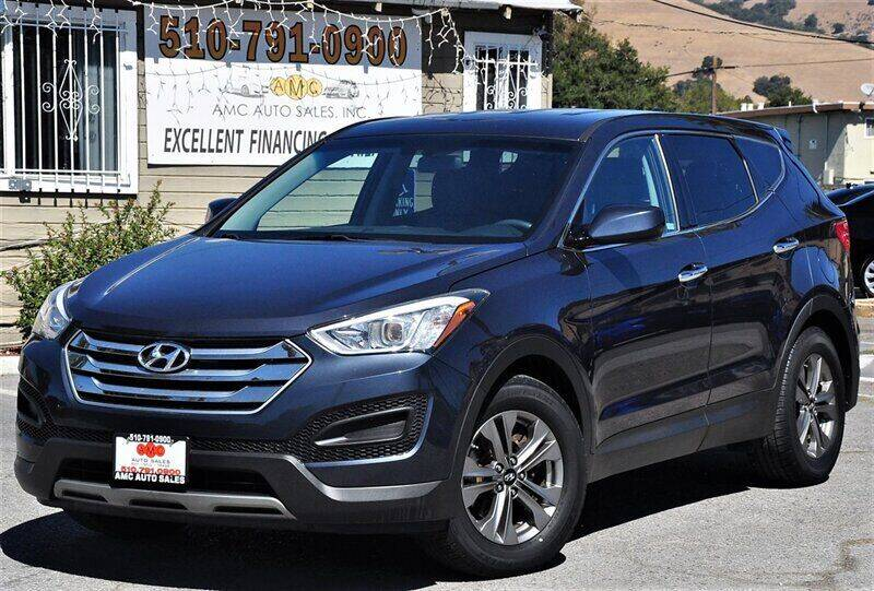 2015 Hyundai Santa Fe Sport for sale at AMC Auto Sales, Inc. in Fremont CA