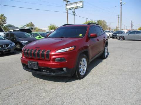 2015 Jeep Cherokee for sale at Central Auto in South Salt Lake UT