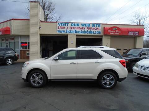 2014 Chevrolet Equinox for sale at Bickel Bros Auto Sales, Inc in Louisville KY