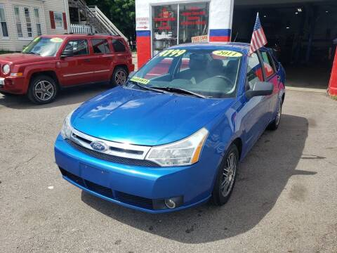 2011 Ford Focus for sale at TC Auto Repair and Sales Inc in Abington MA