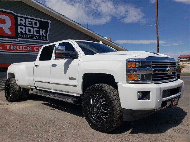 2017 Chevrolet Silverado 3500HD for sale at Red Rock Auto Sales in Saint George UT