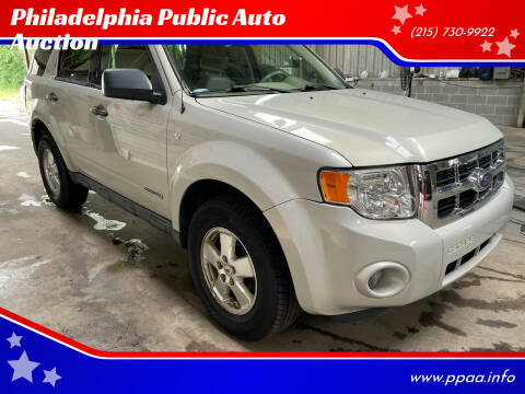 2008 Ford Escape for sale at Philadelphia Public Auto Auction in Philadelphia PA