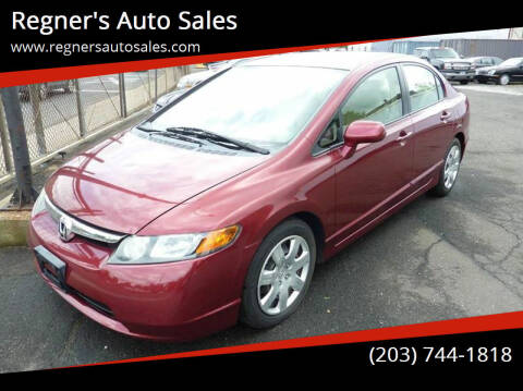 2008 Honda Civic for sale at Regner's Auto Sales in Danbury CT