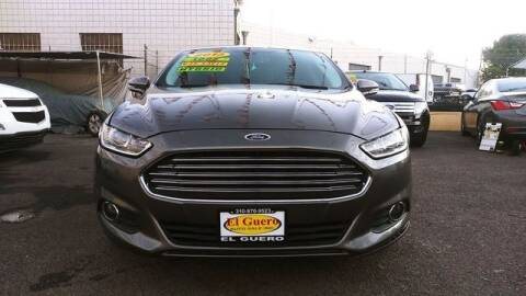 2013 Ford Fusion Hybrid for sale at El Guero Auto Sale in Hawthorne CA