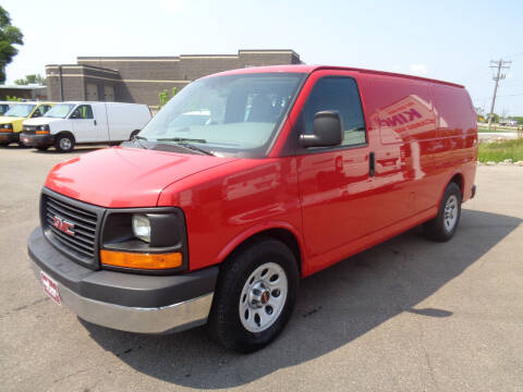 2012 GMC Savana Cargo for sale at King Cargo Vans Inc. in Savage MN