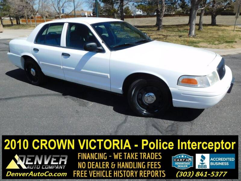 2010 Ford Crown Victoria for sale in Parker, CO