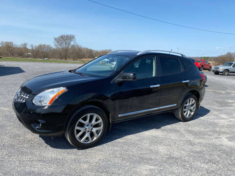 2013 Nissan Rogue for sale at Riverside Motors in Glenfield NY