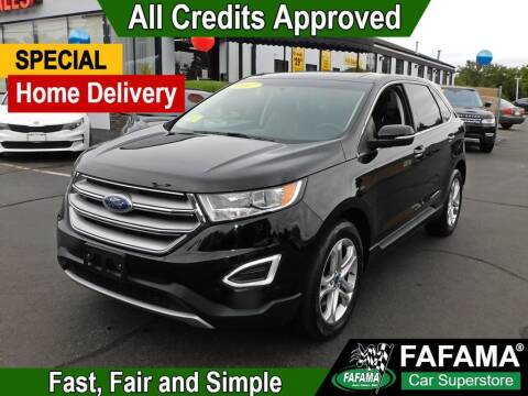 2017 Ford Edge for sale at FAFAMA AUTO SALES Inc in Milford MA