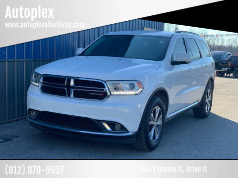 2016 Dodge Durango for sale at Autoplex in Sullivan IN