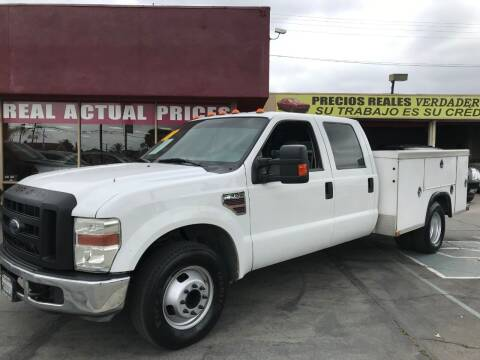 2008 Ford F-350 Super Duty for sale at Sanmiguel Motors in South Gate CA