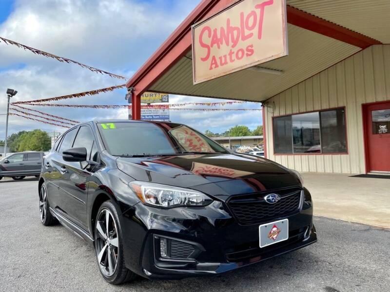 2017 Subaru Impreza for sale at Sandlot Autos in Tyler TX