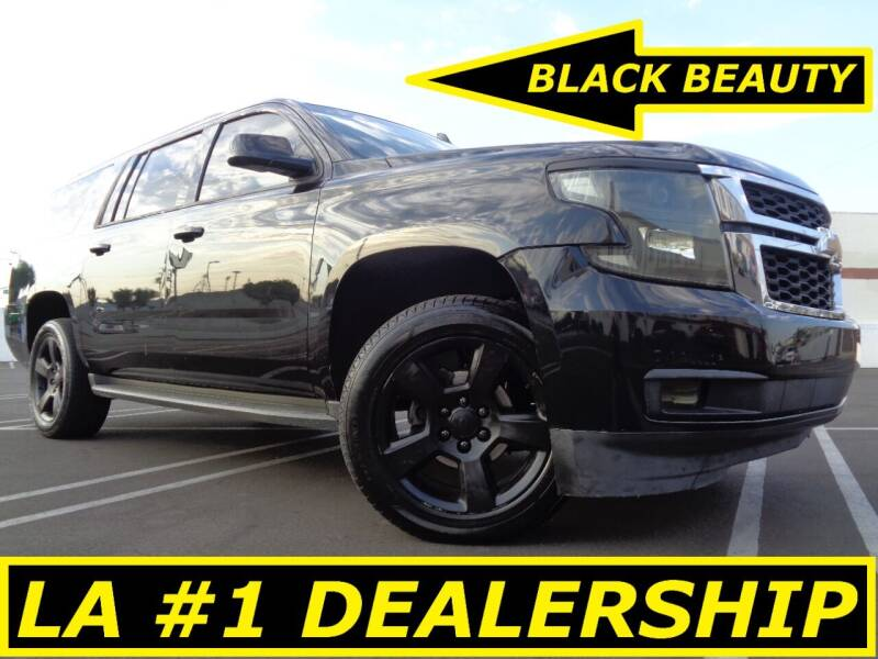 2015 Chevrolet Suburban for sale at ALL STAR TRUCKS INC in Los Angeles CA