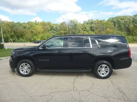2017 Chevrolet Suburban for sale at NEW RIDE INC in Evanston IL