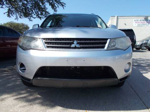2007 Mitsubishi Outlander for sale at ACH AutoHaus in Dallas TX