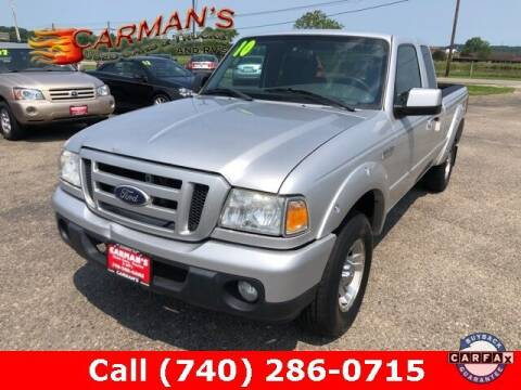 2010 Ford Ranger for sale at Carmans Used Cars & Trucks in Jackson OH