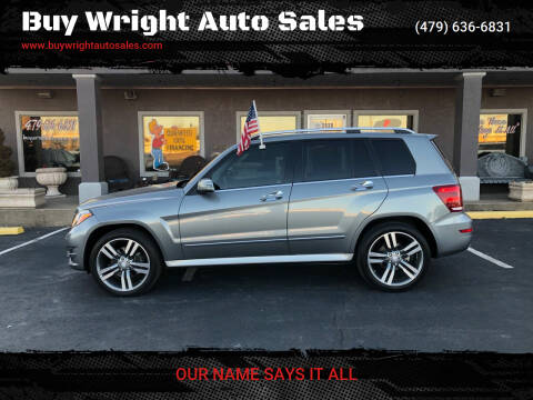 2013 Mercedes-Benz GLK for sale at Buy Wright Auto Sales in Rogers AR