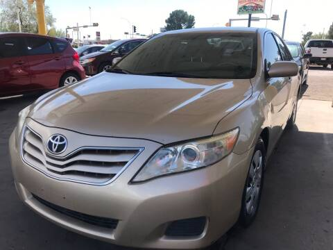 2010 Toyota Camry for sale at Fiesta Motors Inc in Las Cruces NM