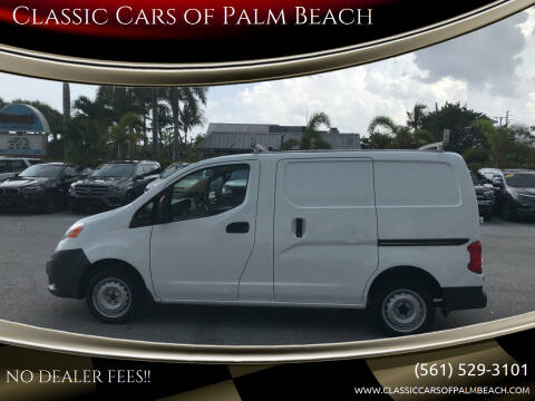 2016 Nissan NV200 for sale at Classic Cars of Palm Beach in Jupiter FL