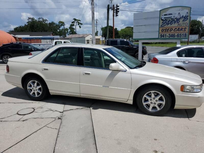 2003 Cadillac Seville for sale at Steve's Auto Sales in Sarasota FL
