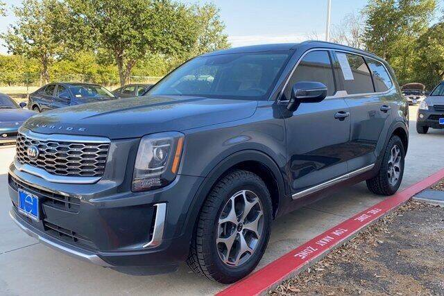 2020 Kia Telluride for sale at FREDY KIA USED CARS in Houston TX