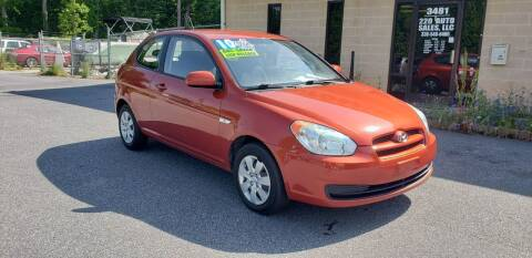 2010 Hyundai Accent for sale at 220 Auto Sales LLC in Madison NC