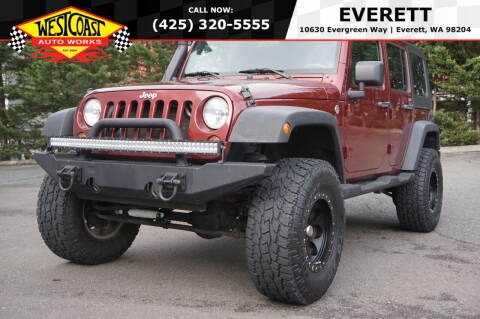 2009 Jeep Wrangler Unlimited for sale at West Coast Auto Works in Edmonds WA