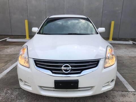2012 Nissan Altima for sale at Delta Auto Alliance in Houston TX