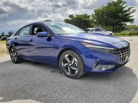 2022 Hyundai Elantra Hybrid for sale at DORAL HYUNDAI in Doral FL