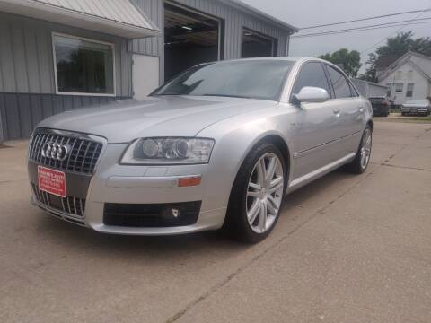 2007 Audi S8 for sale at Habhab's Auto Sports & Imports in Cedar Rapids IA