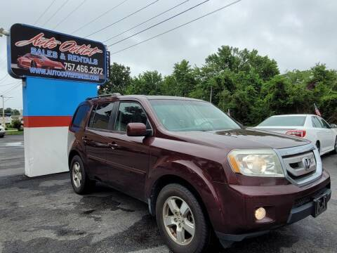 2010 Honda Pilot for sale at Auto Outlet Sales and Rentals in Norfolk VA