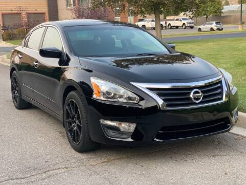 2015 Nissan Altima for sale at A.I. Monroe Auto Sales in Bountiful UT