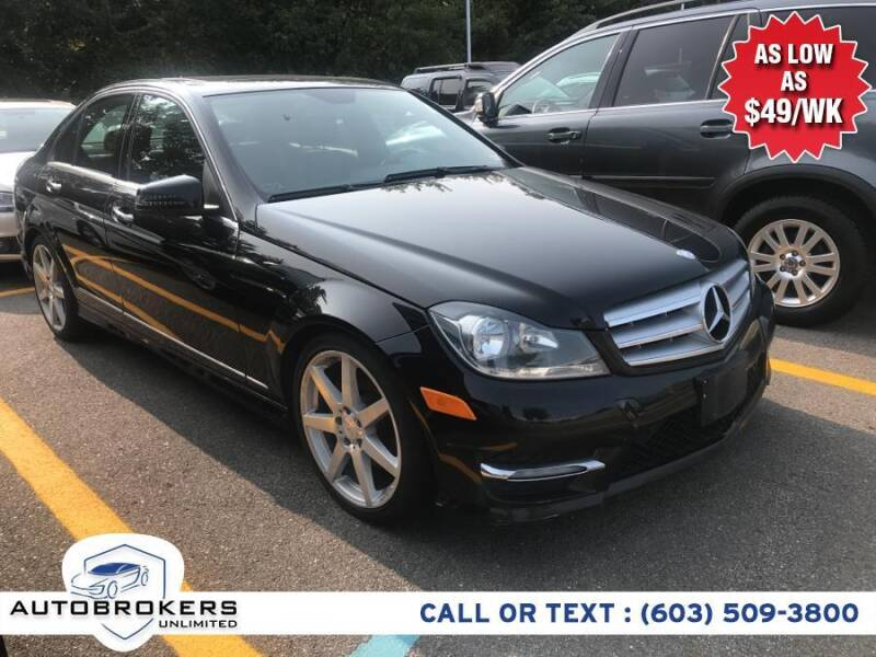 2013 Mercedes-Benz C-Class for sale at Auto Brokers Unlimited in Derry NH
