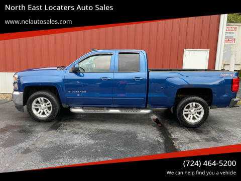 2016 Chevrolet Silverado 1500 for sale at North East Locaters Auto Sales in Indiana PA
