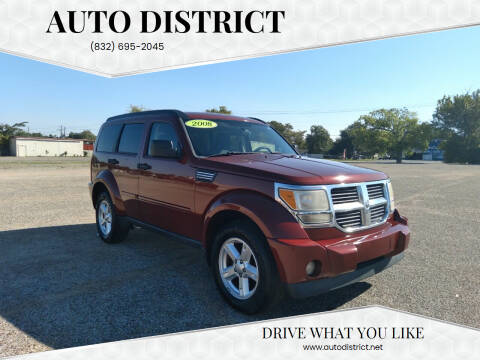 2008 Dodge Nitro for sale at Auto District in Baytown TX