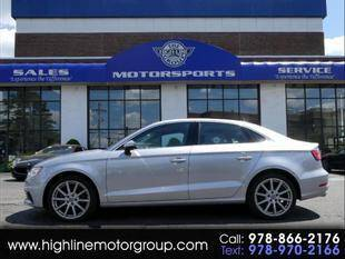 2015 Audi A3 for sale at Highline Group Motorsports in Lowell MA