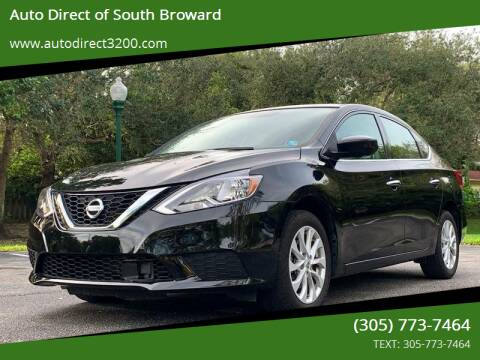 2018 Nissan Sentra for sale at Auto Direct of South Broward in Miramar FL