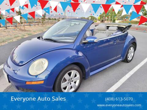 2007 Volkswagen New Beetle Convertible for sale at Everyone Auto Sales in Santa Clara CA
