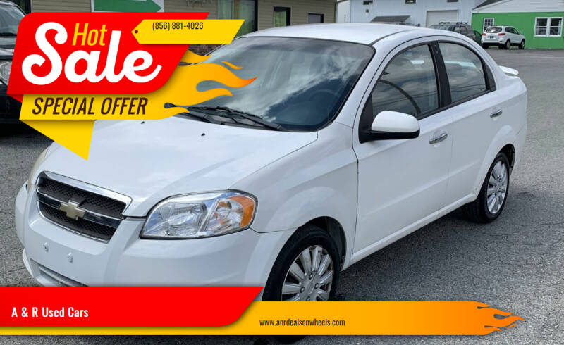 2009 Chevrolet Aveo for sale at A & R Used Cars in Clayton NJ