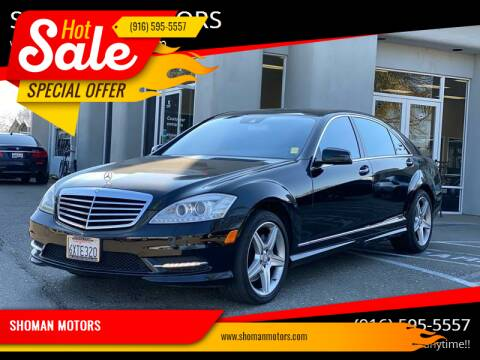 2010 Mercedes-Benz S-Class for sale at SHOMAN AUTO GROUP in Davis CA