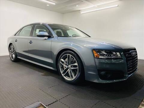 2017 Audi A8 L for sale at Champagne Motor Car Company in Willimantic CT