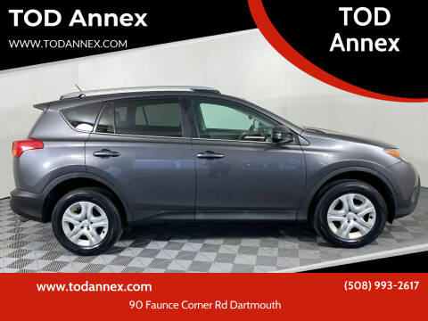 2014 Toyota RAV4 for sale at TOD Annex in North Dartmouth MA