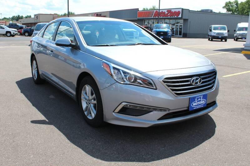 2015 Hyundai Sonata for sale at L & L MOTORS LLC - REGULAR INVENTORY in Wisconsin Rapids WI