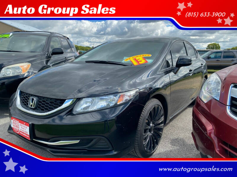 2013 Honda Civic for sale at Auto Group Sales in Roscoe IL
