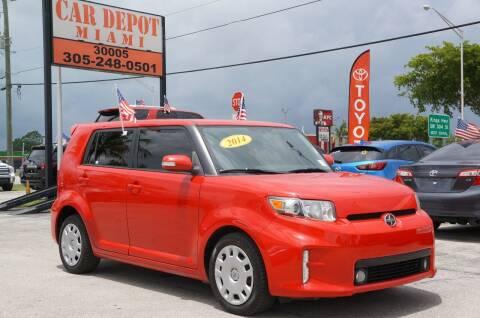 2014 Scion xB for sale at Car Depot in Miramar FL