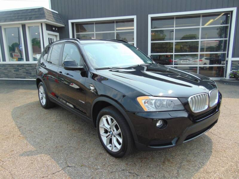 2014 BMW X3 for sale at Akron Auto Sales in Akron OH